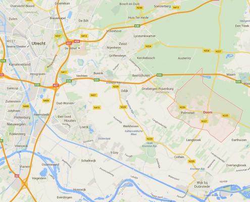 Doorn, trainingslocatie van Krav Maga Utrechtse Heuvelrug